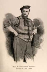 Major Walter Wingfield, inventor of lawn tennis
