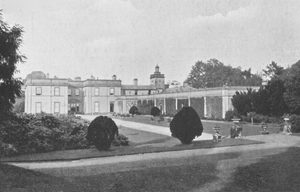 Onslow Hall, demolished 1955