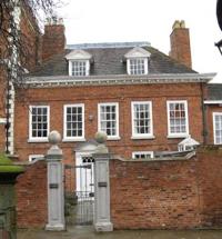 7 Belmont, the Pemberton family home