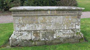 Grave of Edward Burton