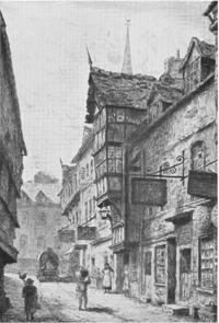 Butcher Row, home to around 200 people