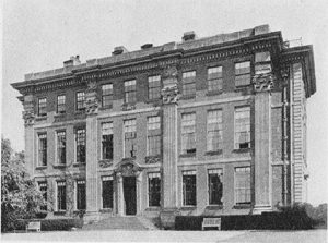 Cound Hall in 1924