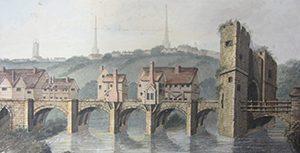 The English Bridge Gate (©Shropshire Archives)