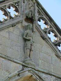 Statue of Henry IV on Battlefield Church