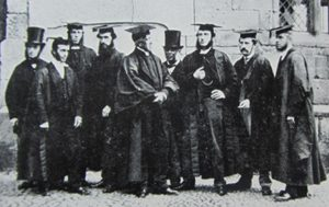 Kennedy and his staff, 1865