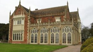 Longner Hall, designed by John Nash