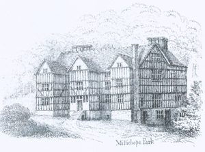The original Millichope Hall