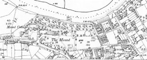 Mount House and Grounds (1900 Ordnance Survey map)