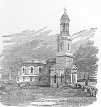 New St Chad's Church c1840
