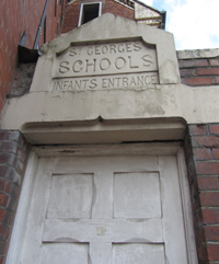 Old St George's infant school entrance