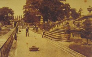 Oteley Gardens, c1880