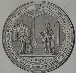 Seal of Shrewsbury School