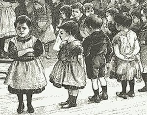Victorian infant schoolchildren