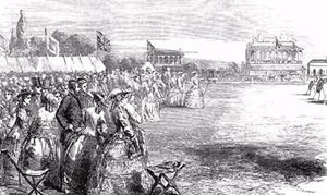Shrewsbury Racecourse, 1854