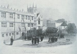 Shrewsbury School in Kennedy's time