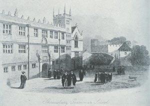 Shrewsbury School in Kennedy's time