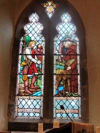 St Giles' window – a gift of Rev WG Rowland
