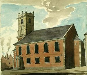 St Julian's 1789, as Pritchard originally designed it