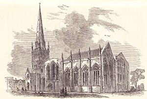 St Mary's Church in Blakeway's time