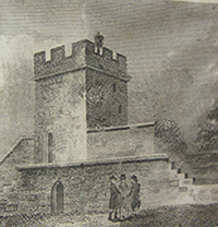 Wingfield's Tower, early 1800s