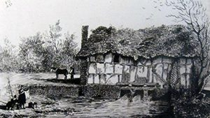 Trill Mill in the early 19th century ©Shropshire Archives
