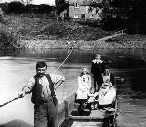 Uffington Ferry, 1907