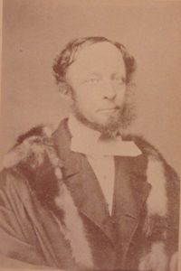 William Burr, when Mayor of Shrewsbury 1859